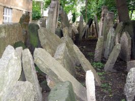 the old jewish cemetery 36 by Meltys-stock