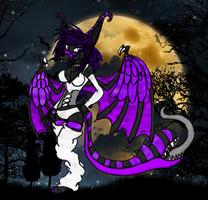 Guardian of the Night, Yurexxia Eclipse Moonphyre by XenomorphSangheili
