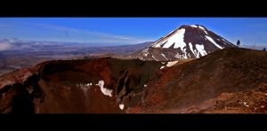 Tongariro Crossing New Zealand by Thrill-Seeker