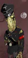 Nazi Zombie Turtle by crippleterrapin
