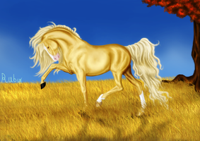 Autumn Gold by WhimsicalRuby