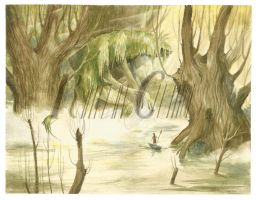 what wanders through the swamp by trollmaiden