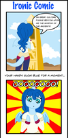 Ironic Comic- Lost Desert Blues by stariearth