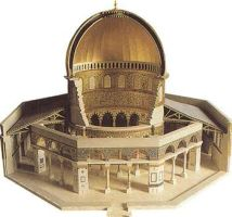 The dome of the rock by inPalestine