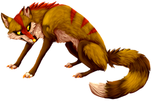 Foxcrab is angry by Kitrax