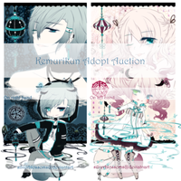 [Open] Kemurikun Adopt Auction -- extended date by silverblossoms