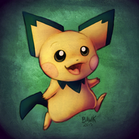PICHU by bawky