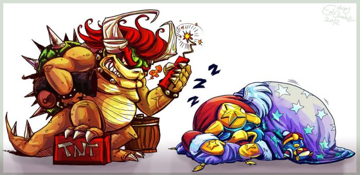 King Gunpowder and King Nap by Evanatt