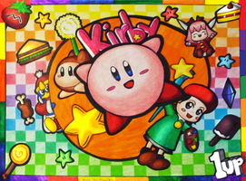 Kirby 64 Rainbow Explosion by Annortha