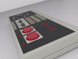 NES controller by flightcrank