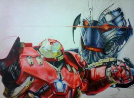 HULKBUSTER WIP by mario-freire