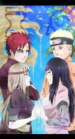 Sabaku No and Uzumaki by PolishaMyshka