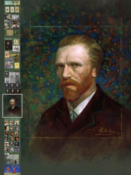 Vincent van Gogh real face study (local) by SharksDen