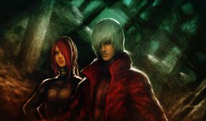 Devil may cry by basara1988