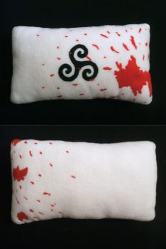 Teen Wolf triskelion Pillow by nezstorm