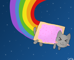 Nyan Cat by Lomise