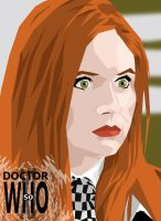 Amy Pond: Project Who 50 by DoctorRy