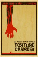 Torture Chamber  Esp Poster by Hartter