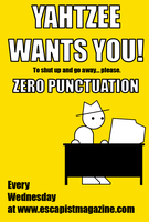 Zero Punctuation Poster by Zathroth