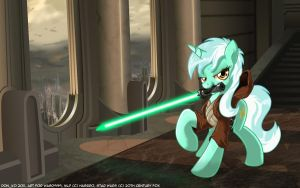 Lyra the Jedi by Don-ko