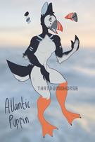 10 -Puffin adopt auction- by thatdumbhorse