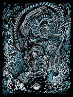 Screenprint: Aliens / Vox Nihilis by milestsang