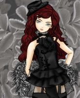 Luts girl 01: Megal by Morgwaine