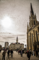 Novi Sad center by mmirkovic