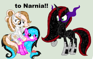 happy birthday ArtsyMuffin, we are going to Narnia by tiffanykip