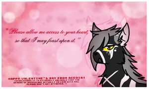 Valentines from Acedia - Lenore by Hollowed-Chimera