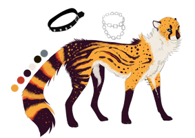 Cheetah Design [commission] by Psitt