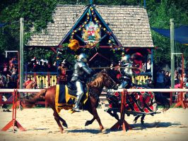 The Joust by evelynrosalia