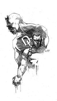 The Punisher - Daredevil by ARIELAkris