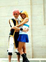 Natsu and Lucy Cosplay by Hikari-Cosplay
