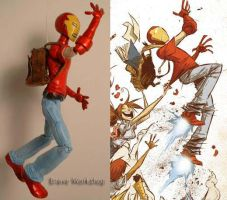 Skottie Young Iron Man by Baker009