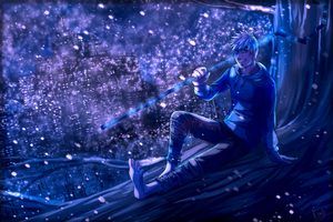 ~ Jack Frost: More Than a Myth~*speedpaint* by KellBellz