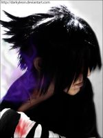 SASUKE- by DarkyLeon