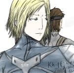 Raiden and Snake by Kh-FF-Lover