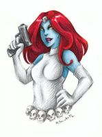 Mystique by msciuto