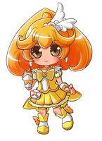 Smile Precure!: Cure Peace / Kise Yayoi by Hadibou