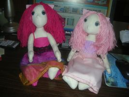 Pretty Poppet Pinky Twins by Eliea