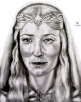Galadriel by tanjadrawing