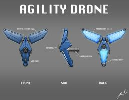 Agility Drone by KevinMassey