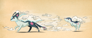Squallow is evolving? by Yufika