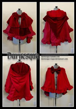 Little Red Riding Capelette by Durnesque