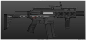 Hichor Armory R15 CQB by ZiWeS