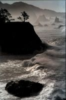 Coastal Scene - Vertical by aristocrat