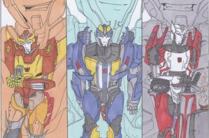 Wake me up-Transformers by YukiOni