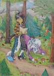 RQ - In the forest by SnowSnow11