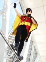 Young Justice: Dick Grayson I mean.. Robin by Moxiemelody